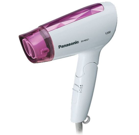 2 In 1 Hair Care Pack,With Panasonic Hair Dryer 1200W, EHND2 and Krypton Hair Straightener- KNH6018