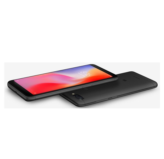 Xiaomi Redmi 6, Dual SIM, 64GB, 3GB RAM, 4G LTE, Black (Global Version)
