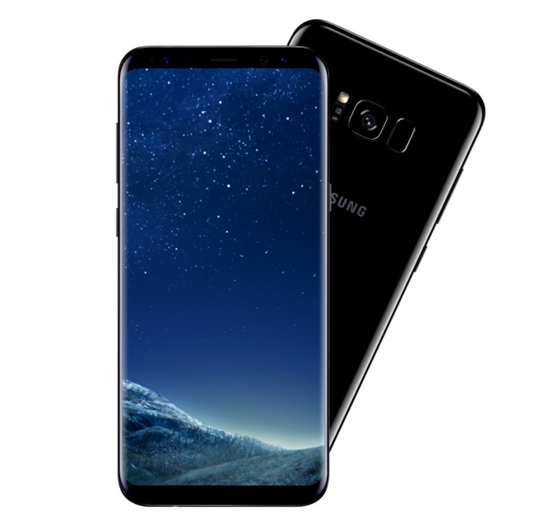 Samsung Galaxy S8 Plus, Dual SIM, 64 GB, 4GB RAM, 4G LTE, Black.