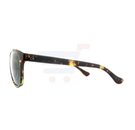 Calvin Klein Square Brown Frame & Green Mirrored Sunglasses For Unisex - CK3175S-214