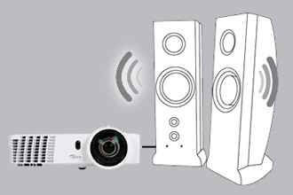 Optoma Dlp Projector ,3400 ANSI Lumens,Full 3D,Gt760