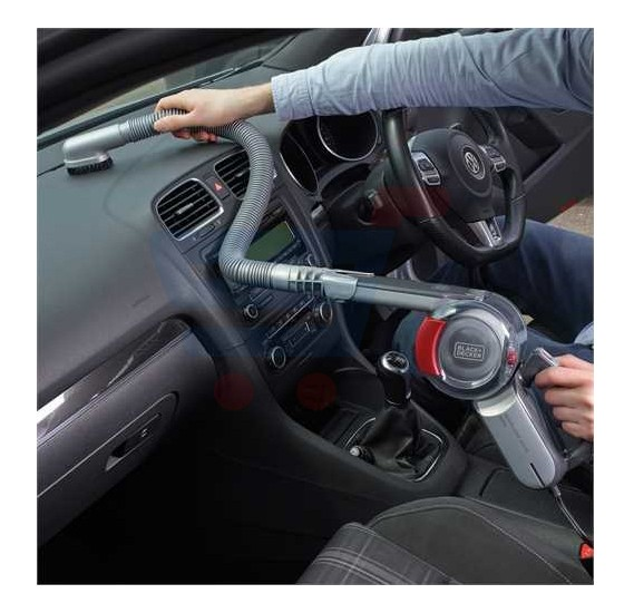 Black & Decker 12VDC Pivot Dustbuster Auto Hand Vac, PV1200AV-B5