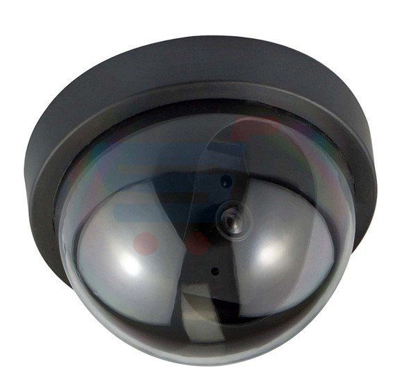 Dummy Security Camera, Realistic Looking with Motion Detection System and Light