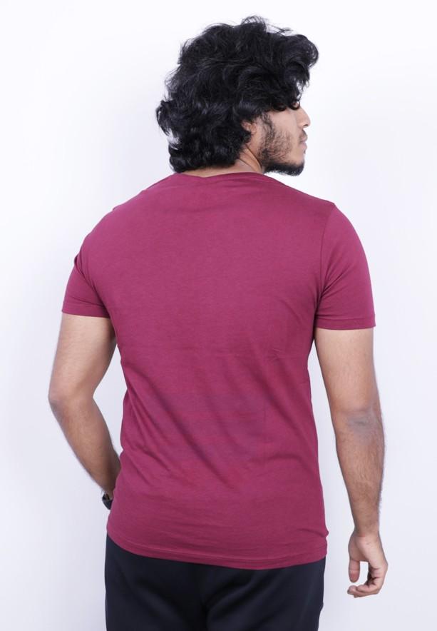 UN Lock Mens Tshirt Red - ST8653 - XXL