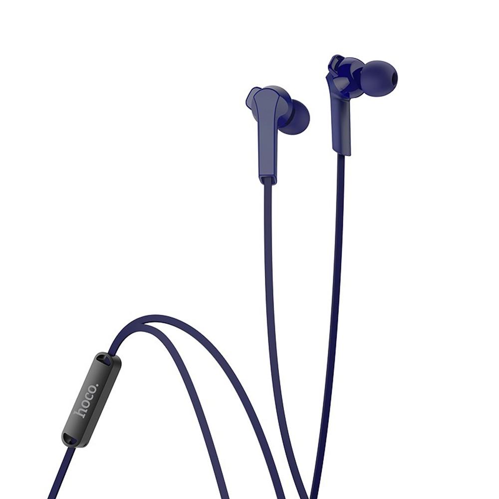 Hoco Admire Universal Earphones With Mic Blue, M72