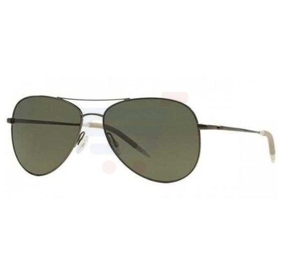 Oliver Peoples Aviator Gunmetal Frame & Midnight Vfx Mirrored Sunglasses For Unisex - 1191S-5016P1