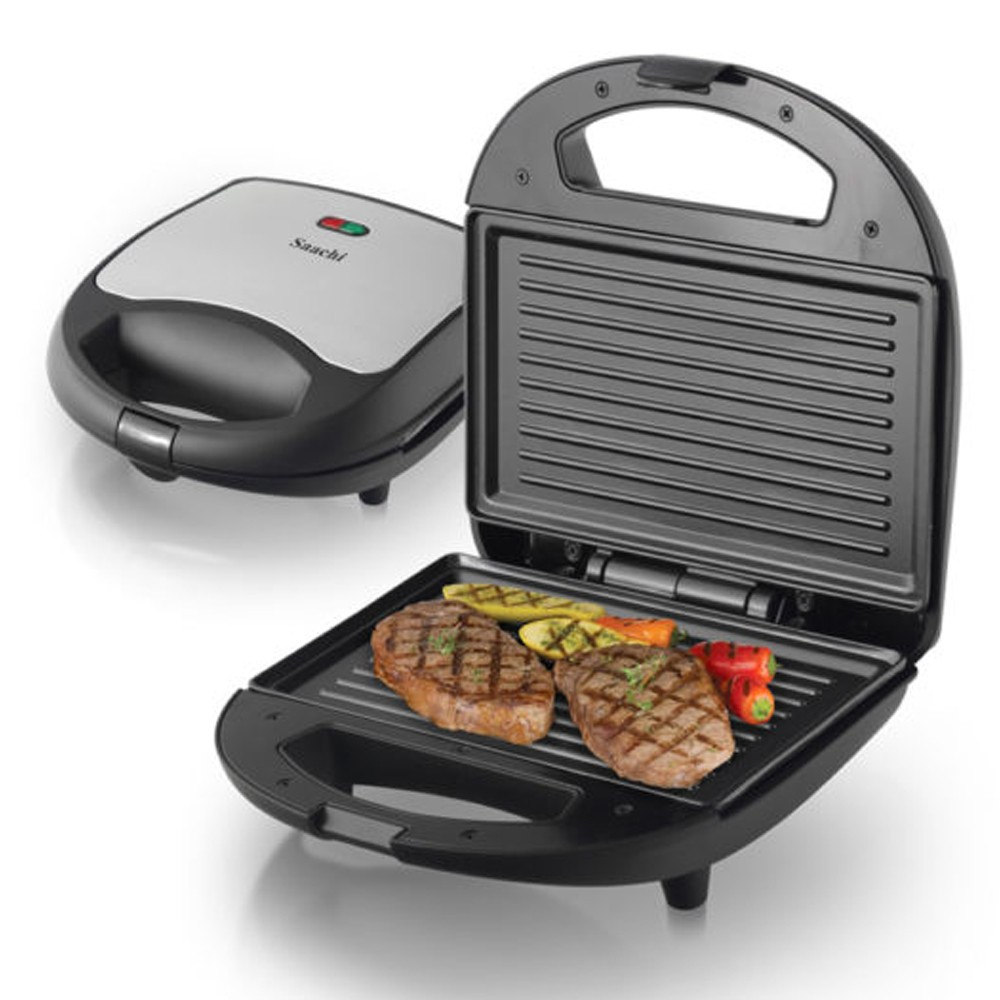 Saachi 2pc Sandwich & Grill Maker, Nl-Sm-4659