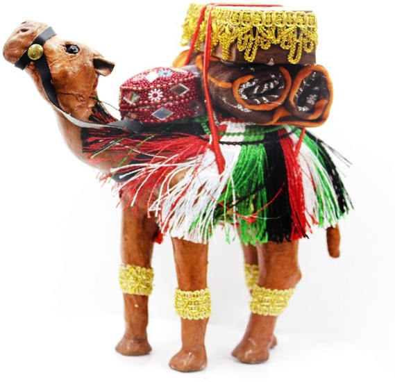 Handmade Camel Leather Paper Mache