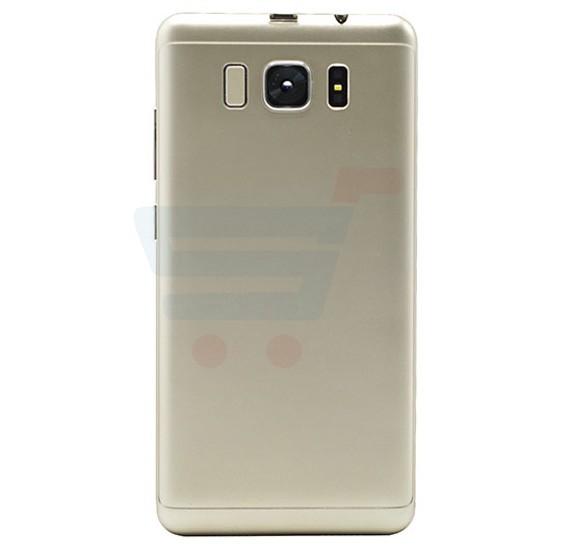 K-Star K2 Smartphone 4G, Android 6.0,HD Display 5.0 inch, 1GB RAM, 8GB Storage, Dual SIM,Dual Camera,Dual Core, FM Radio, Wi-Fi - Gold