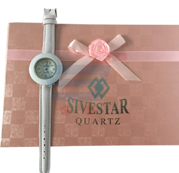 Sivestar Quartz Collection Watch For Women 11 Colored Straps - Random Colors