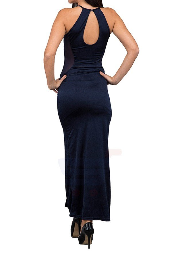 TFNC London New Abbie Maxi Evening Dress Navy - ANT 29470 - L