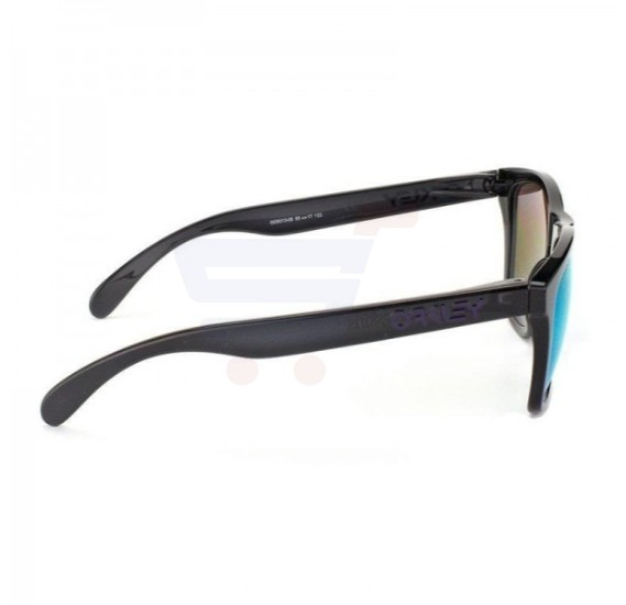 Oakley Wayfarer Black Ink Frame & Violet Iridium Mirrored Sunglasses For Unisex - 0OO9013-901309