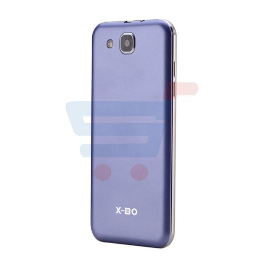 X-BO S87 Smartphone, 4G, Android 6.0 OS, 2GB RAM, 16 GB Storage, 5.5 Inch HD Display, Dual SIM, Dual Camera, Octa Core 1.3GHz Processor, Blue