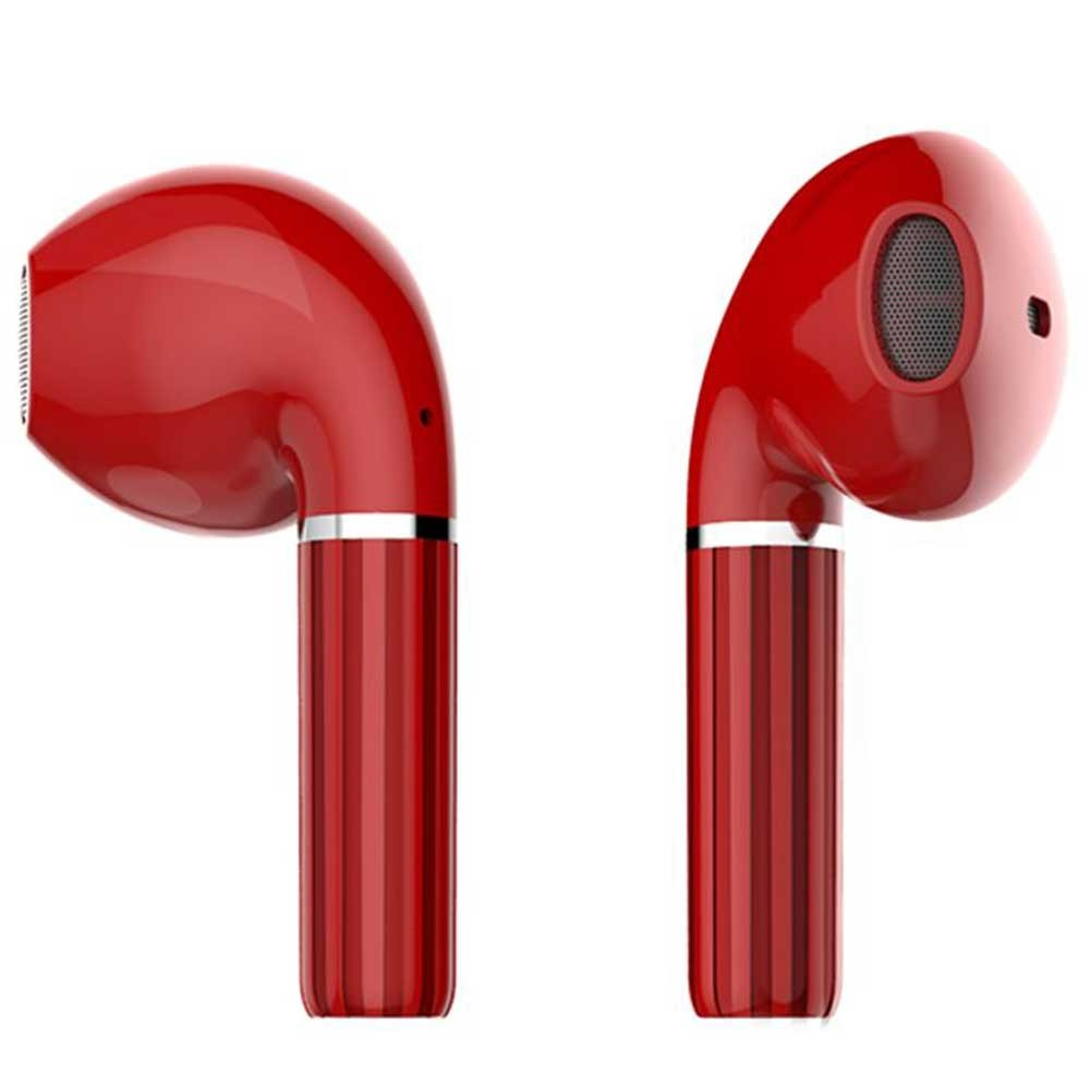 Xcell Soul 2 PRO Wireless Stereo Earpods, red