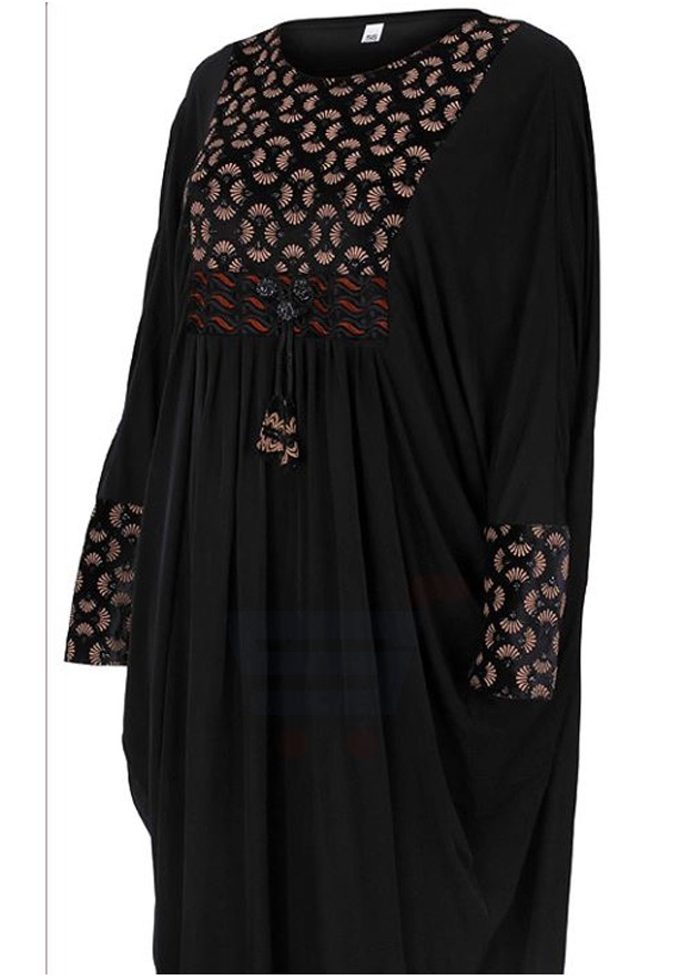 Abaya For Women Black - ABY-39 - 58