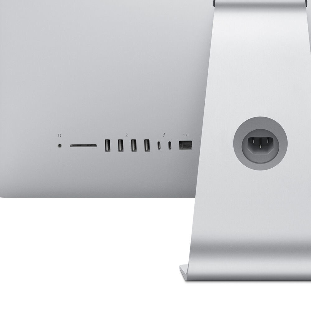 Apple iMac 21 inch Display 2020, i5 Processor 8GB RAM 256GB SSD AMD Pro560X 4GB Graphics, Silver English and Arabic