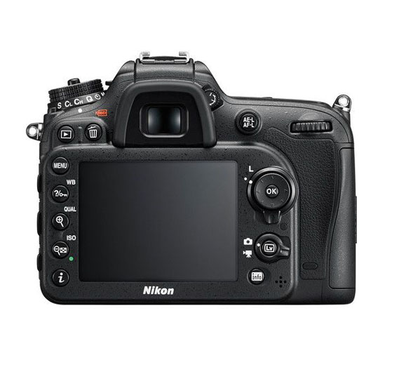 Nikon D7200 DSLR Camera (Body Only, Black)