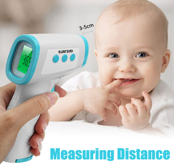 Blunt Bird DN-998 LCD Digital Non Contact Infrared Thermometer