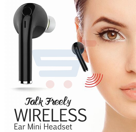Vovg Wireless Bluetooth Single Ear Mini Headset V1, ZN6510