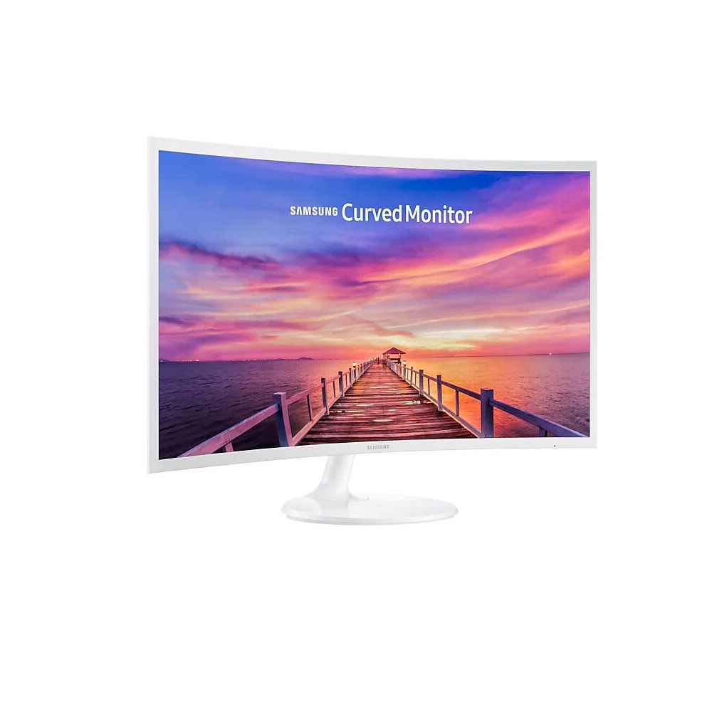 Samsung 32 Inch Curved Monitor, White