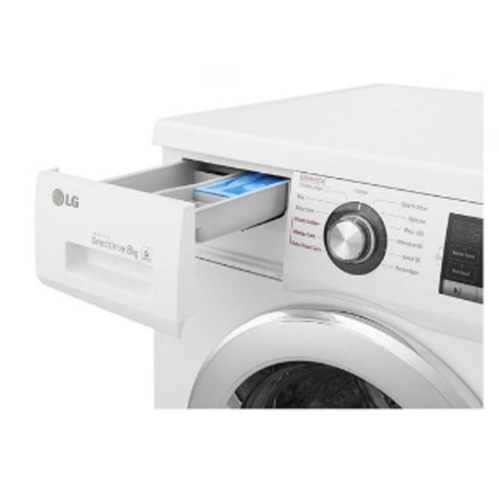 LG Front Load Washer 8 Kg, FH4G6TDY2