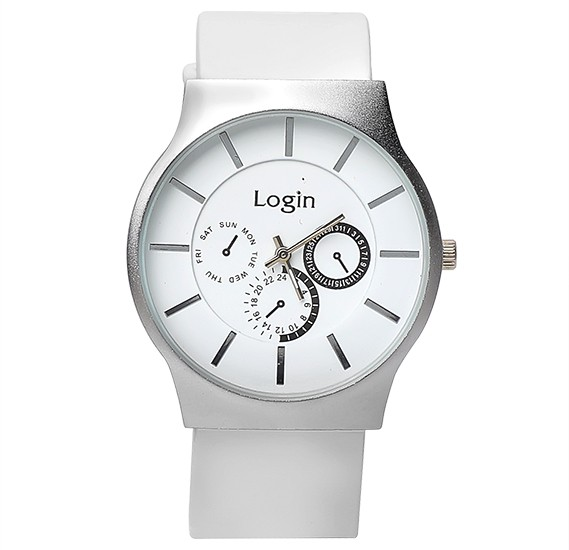 5 in 1 Login Fashion Wrist watch Set P21, Royalhand