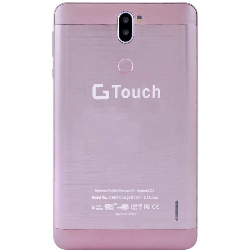 G Touch G802 7Inch Tablet, 2GB RAM 16GB Storage, 4G, Assorted