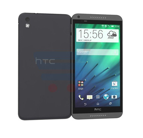 HTC Desire 816 4G Smartphone, Android 5.0, 1.5GB RAM, 8GB Storage, 5.5 Inch LCD2 Display, Dual Camera, Black