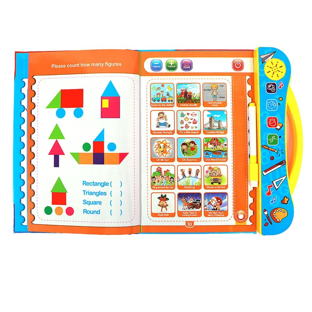 Kids Intellectual Learning Book with Music and Sound