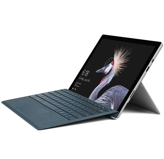 Microsoft Surface Pro with LTE 4G+ i5, 128 GB, 4GB RAM 12.3 Inch Windows 10 PRO,Silver, Model 1807 - GWL-00006 - TRA