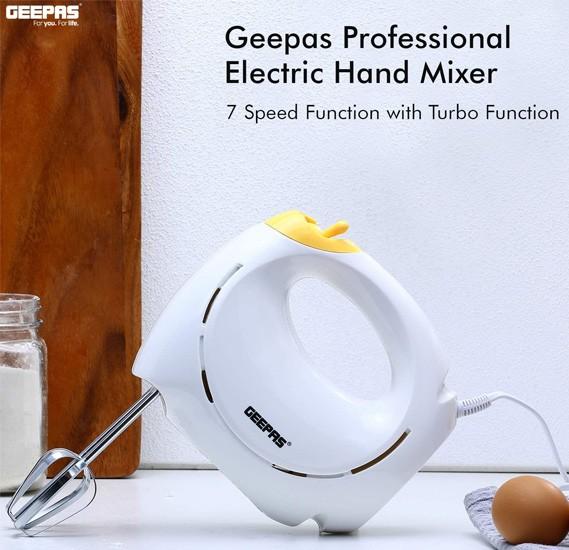 Geepas Hand Mixer 7 Speed - GHM43012