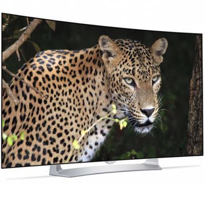 LG 55 Inch OLED Curved 3D TV 55EG910