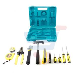 Home Package 11pcs Tool Set with Carry Box [MT-5132]