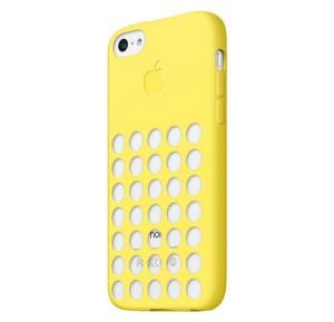 Apple iPhone 5C Silicone Case Yellow MF038