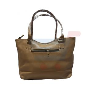 WK Fashion  Women Hand Bag Leather-Brown W1011
