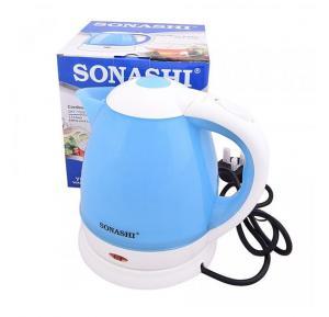 Bundle Offer ! Sonashi 2 Slice Non-Stick Grill Plate SGT-853 + Sonashi 5 SPEED Hand Mixer, 200W SMX-128 + Sonashi 1.5L Cordless Kettle SKT-1502