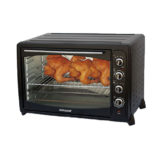 Sonashi STO-727 Electric Oven Rotisserie & Convection, 91L