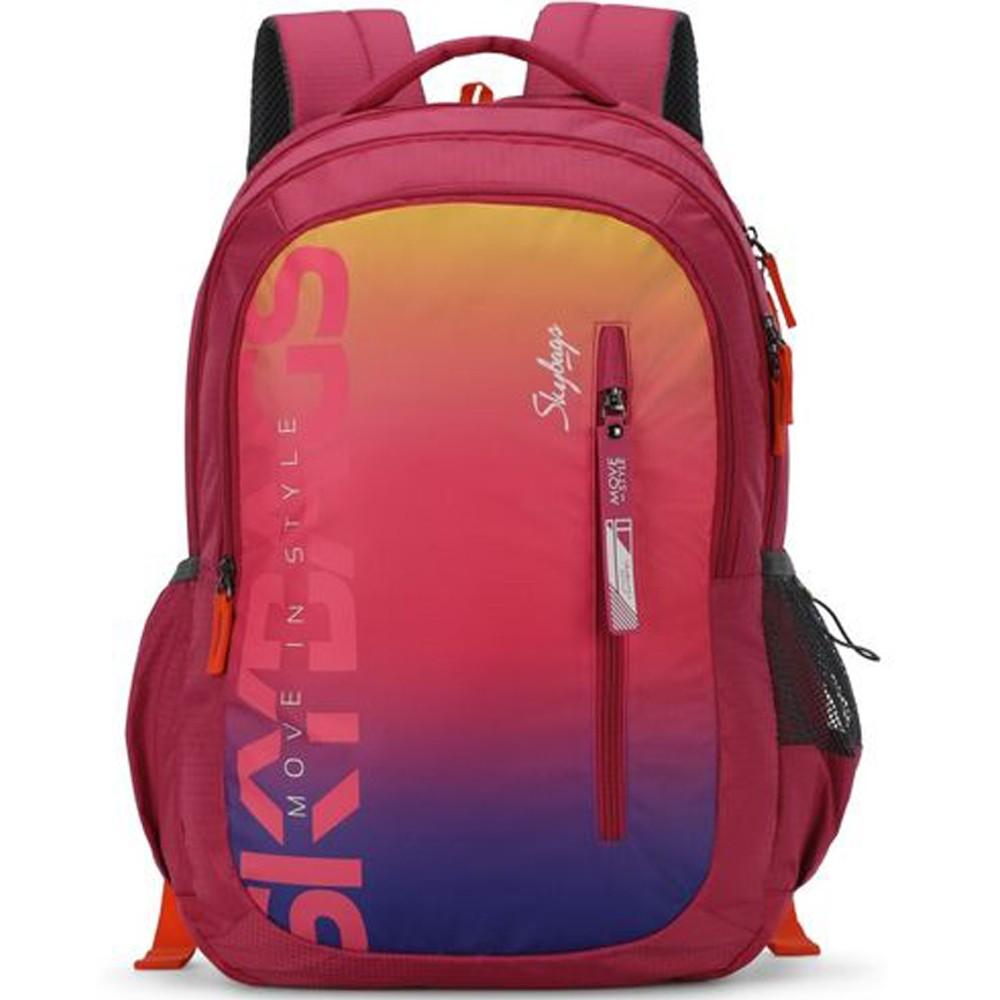 Skybags Figo Plus-02 Unisex Gradient Pink Backpack, BPFIGP2GPK