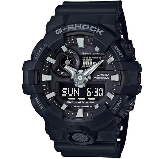 Casio G-Shock Analog Digital Sport Watch - GA-700-1BDR