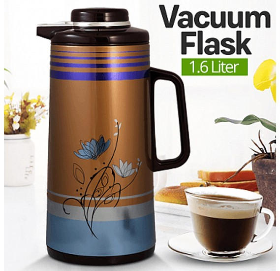 Cyber Hot Water Keeping Warm Vacuum Flask 1.6 Liter, CYVF-7116