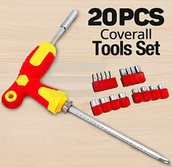 CXH 20 Pcs Coverall Tools Set - CXH-109