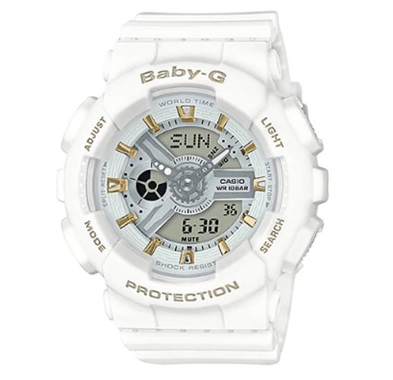 Casio Baby-G G-Shock Watch White, BA-110GA-7A1DR