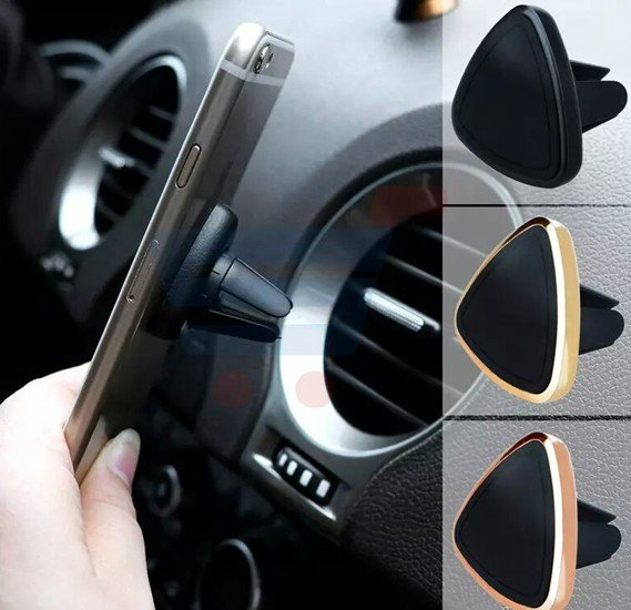 Triangle Mount Holder Magnetic Car Air Vent Phone Holder