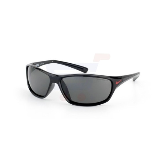 Nike Rectangular Black Frame & Grey Mirrored Sunglasses For Unisex - EVO603-001