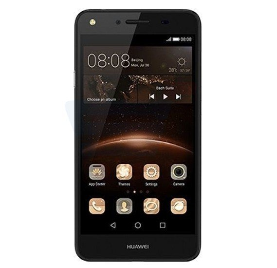 Huawei Y5II 4G Smartphone, Android 5.1, 5.0 Inch Display, 8GB Storage, 1GB RAM, Dual Camera, Black