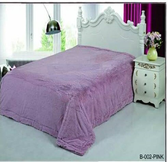 Senoures Classic Blanket Double 220X240CM - B-002 Pink