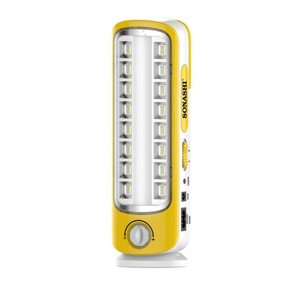 Sonashi Rechargeable Led Lantern (With Light Dimmer Function)Yellow, SEL-693