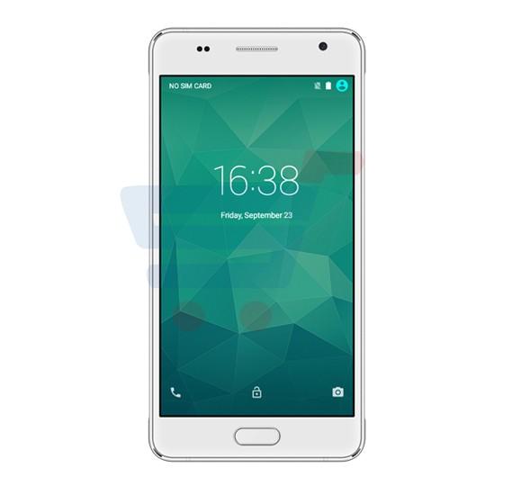 Blumix A7 Fingerprint Mobile,4G LTE,Android 6.0 Marshmallow,5.0 inch HD Display,2GB RAM,16GB Storage,Dual SIM,Dual Camera,Quad Core   Processor,Bluetooth,WiFi,FM Radio-White
