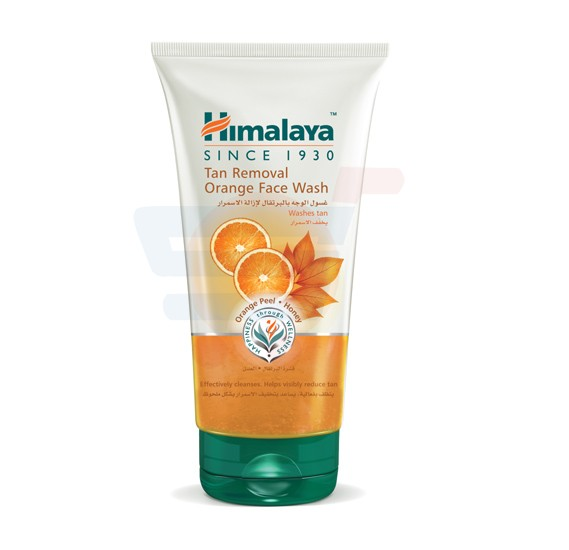 Himalaya Tan Removal Orange Face Wash 150 ML