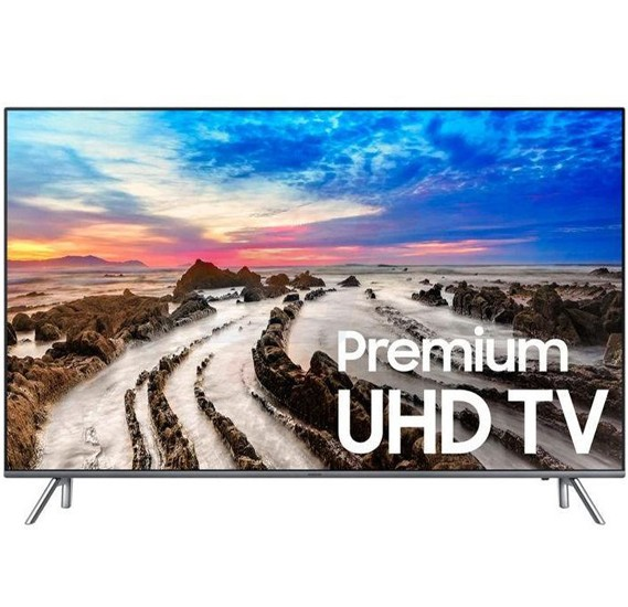 Samsung 55 Inch Smart LED TV Silver 55MU8000